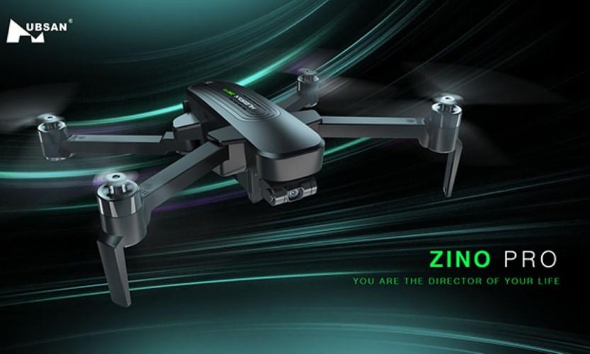 Flycam Hubsan Zino Pro - phiên bản mới nâng cấp của Zino H117S